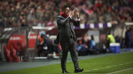 O Benfica recebe esta quarta-feira o Estoril-Praia, às 20h15, em jogo da segunda mão das meias-finais da Taça de Portugal
