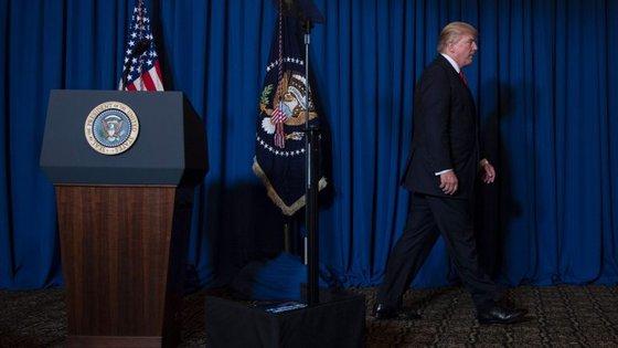 Donald Trump anunciou o ataque durante uma conferência de imprensa
