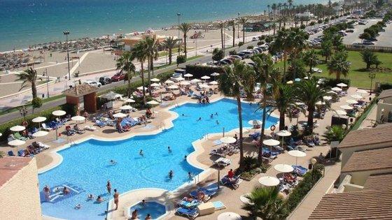 Desacatos passaram-se no Hotel Publo Camino Real, em Los Álamos, Torremolinos