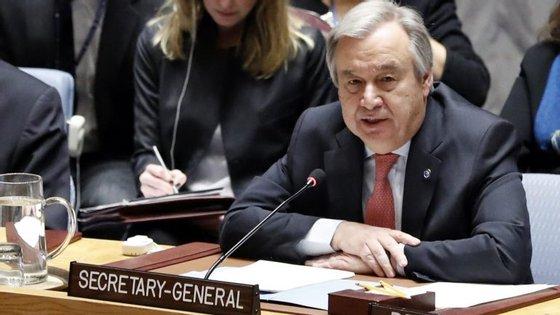 António Guterres vai assinalar os primeiros 100 dias à frente da ONU no dia 11 de abril