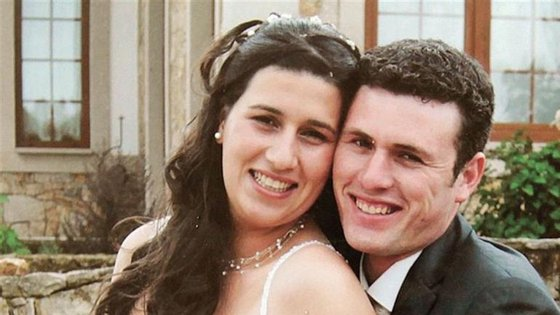 Liliane Pinto morreu esta quarta-feira. O marido, Luís Pinto (à direita), morreu quando Pedro Dias atacou o casal na estrada nacional 229