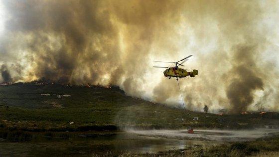 Governante falava aos jornalistas à margem da apresentação do Dispositivo Especial de Combate a Incêndios Florestais