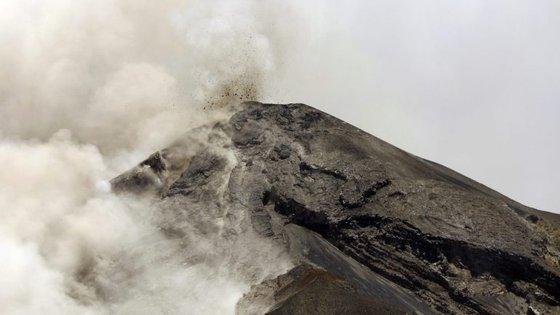 Estes drones têm a capacidade de medir a temperatura e humidade nas nuvens vulcânicas