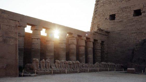 O túmulo fica localizado na necrópole de Draa Abul Nagaa, perto de Luxor