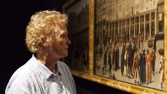 A exposição foi comissariada pelas historiadoras Annemarie Jordan Gshwens (na foto) e Kate Lowe
