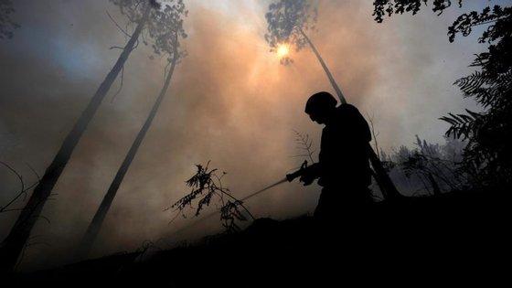 """Autoridade Nacional de Proteção Civil (ANPC) informou que as regiões Norte e Centro vão registar nesta quinta-feira índices """"elevados a muito elevados"""" de risco de incêndio."""