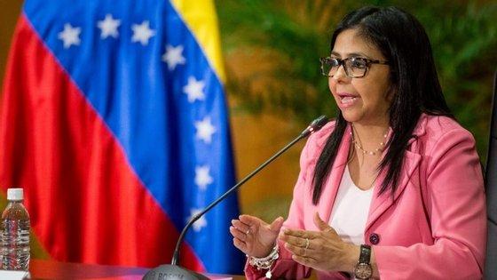 """A ministra dos Negócios Estrangeiros venezuelana assinalou que Caracas rejeita o que tenha que ver """"com a atuação da OEA na Venezuela"""""""