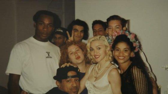 Madonna transformou os seus bailarinos em ícones gays.