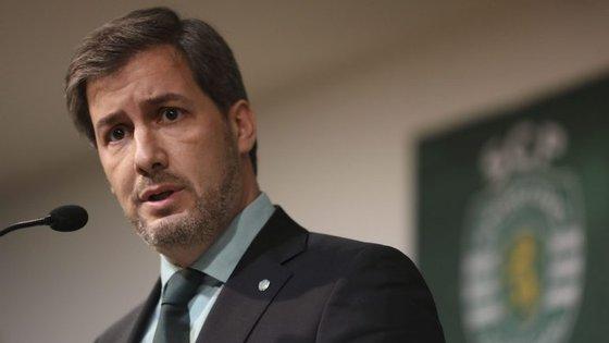 Bruno de Carvalho instou os sócios a deixarem de consumir informação desportiva