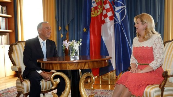 O Presidente português iniciou esta quinta-feira uma visita de Estado de dois dias à Croácia, que é o mais recente membro da União Europeia