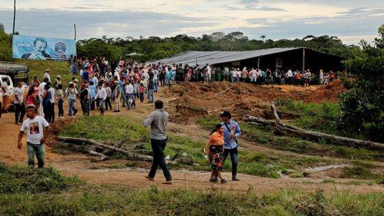 O líder das FARC publicou uma série de tweets durante o fim-de-semana onde denunciava o alegado incumprimento do acordo de paz por parte do Governo da Colômbia