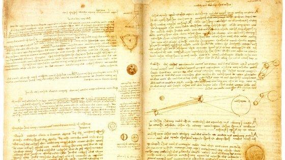 Na lista estão obras de Da Vinci e Einstein
