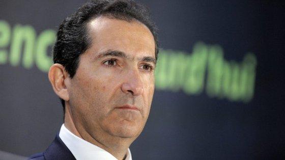 Patrick Drahi, principal acionista da Altice, surge entre as 22.900 reclamações de crédito junto do antigo BES