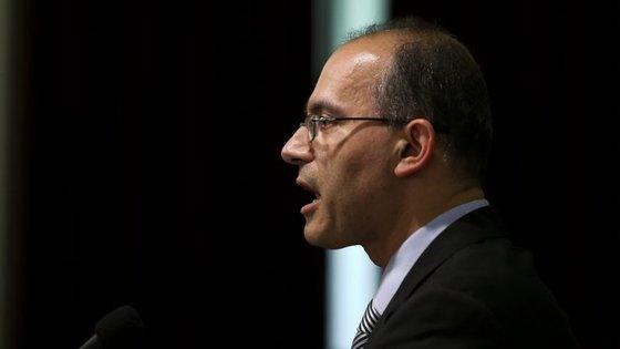 """António Ventinhas argumentou que as propostas do Governo configuram que """"está em curso um processo de militarização do Ministério Público"""", com """"aniquilação da autonomia interna"""" e """"concentração nos poderes hierárquicos"""""""