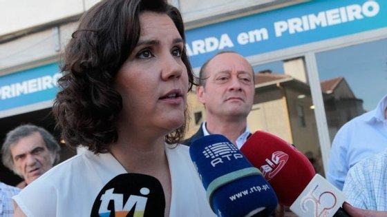 """Assunção Cristas esteve presente na abertura da sede de campanha da coligação autárquica """"Guarda em Primeiro"""""""