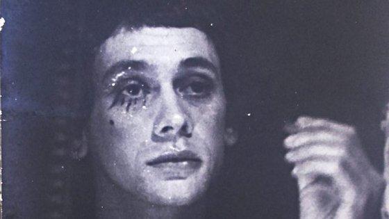 Al Berto, circa 1975, em Sines, depois de regressar da Bélgica.