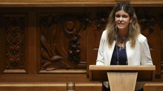 Ana Sofia Antunes demonstrou a mudança que o país opera dando o exemplo de dois projetos legislativos: a Prestação Social para a Inclusão e o novo modelo de apoio à vida independente