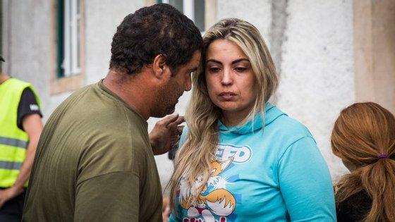 O bombeiro sapador António e Tânia Ferreira, técnica florestal em Pedrógão Grande, foram à procura da família