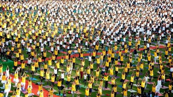 O yoga foi proclamado como Património Imaterial da Humanidade, pela Unesco, no final de 2016