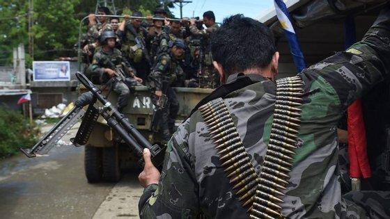 A situação nas Filipinas agravou nos últimos dias depois da ocupação islâmica em Marawi, no sul do país