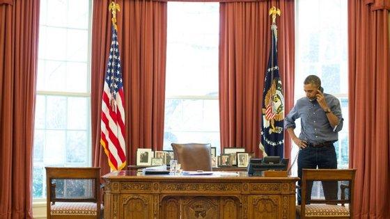 Obama pediu a Putin que parasse de interferir nos assuntos internos dos EUA