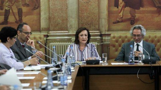 Joana Marques Vidal falava na Comissão Parlamentar de Assuntos Constitucionais, Direitos, Liberdades e Garantias