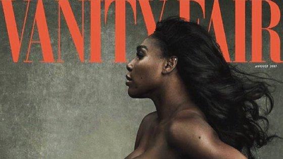 Na edição de agosto, Serena Williams fala da sua gravidez e da relação com Alexis Ohanian