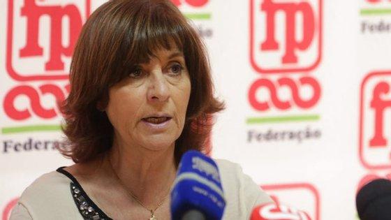 A informação foi avançada esta quarta-feira aos jornalistas pela coordenadora da Frente Comum de Sindicatos da Função Pública, Ana Avoila