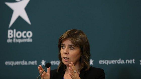 """A coordenadora do BE frisou que se trata de um Parceria Público-Privada que diz ter custado """"cinco vezes mais do que o sistema custa"""""""