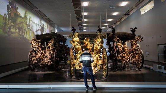 Data de regresso da gratuitidade é assinalada a partir das 10h00, numa visita do ministro da Cultura ao Museu Nacional Machado de Castro, em Coimbra,