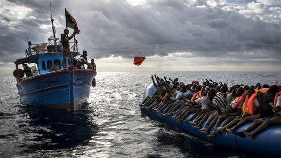esde o princípio de 2017, mais de 83.000 migrantes chegaram a Itália, na maioria provenientes da costa da Líbia