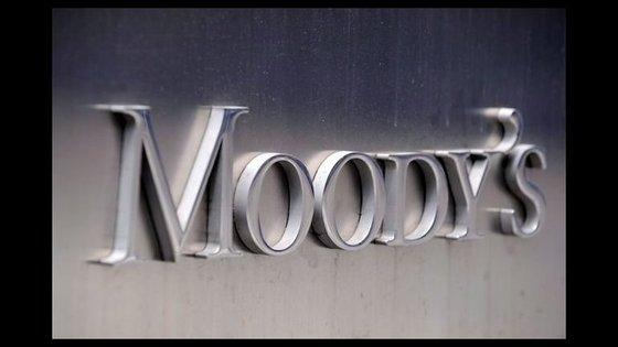 A escala da Moody's para atribuição de ratingsvai desde o AAA até ao D