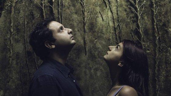 """Nuno Costa e Rita Maria, a voz central das 13 canções do álbum """"À Deriva"""", editado no passado mês de março"""