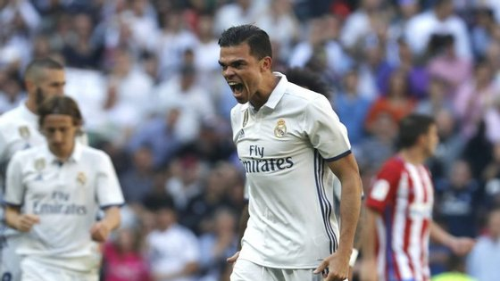 Pepe assinou pelo Besiktas por duas épocas depois de ter passado muitos anos no Real Madrid