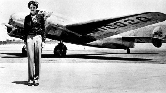 Os restos mortaisde Earhart nunca foram encontrados e asua mortesó foideclarada em 1939