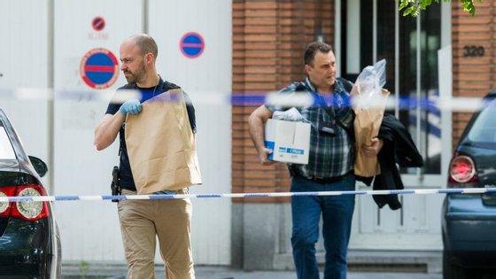 As autoridades receiam que os suspeitos possam cometer algum atentado