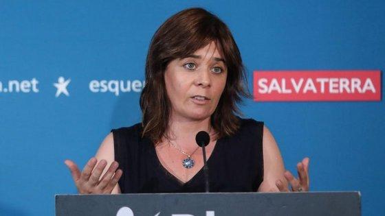 """A líder bloquista admitiu que o partido tem """"tido alguma dificuldade em tornar as questões da cultura visíveis"""""""