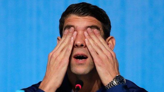Depois de se retirar das piscinas de Londres, em 2012, Phelps ficou sem propósito e direção