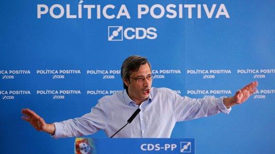 Nuno Magalhães, líder do grupo parlamentar do CDS-PP