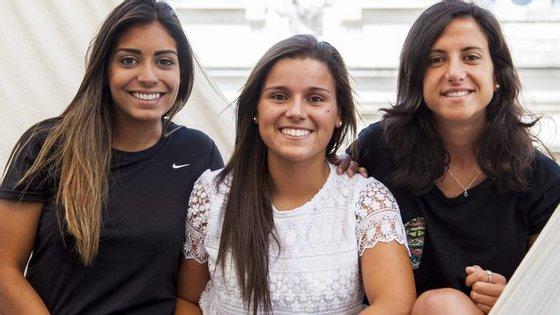 Suzane Pires, Mónica Mendes e Dolores Silva j´estão na redacção do Observador
