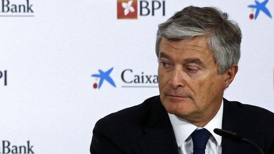 O CaixaBank, sediado na Catalunha, é acionista maioritário do português BPI, agora liderado por Pablo Forero