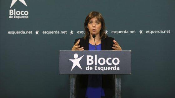 Durante uma conferência de imprensa na sede do BE, em Lisboa, Catarina Martins foi questionada pelos jornalistas sobre as falhas do SIRESP (Sistema Integrado de Redes de Emergência e Segurança de Portugal)