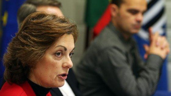 """A presidente do STE, Helena Rodrigues, considerou que """"o processo está a decorrer de forma um pouco lenta, mas com empenhamento das organizações sindicais"""""""