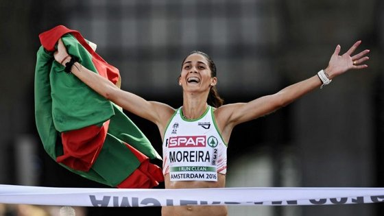 A atleta natural de Santo Tirso, de 31 anos, sagrou-se campeã da Europa na meia-maratona, em 2016