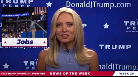 A guerra de Trump com as apelidadas 'fake news' está longe de terminar e o presidente já começou a lançar alguns trunfos
