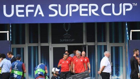 Cristiano Ronaldo apenas regressou aos treinos no sábado, três dias antes do jogo de Skopje