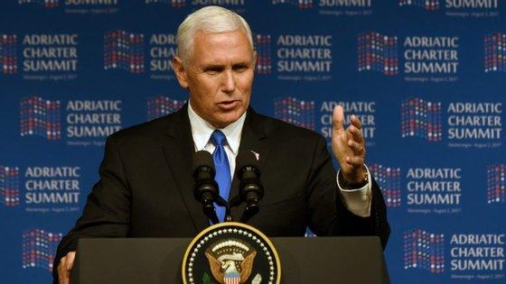 Visita de Mike Pence leva a situação na Venezuela na agenda