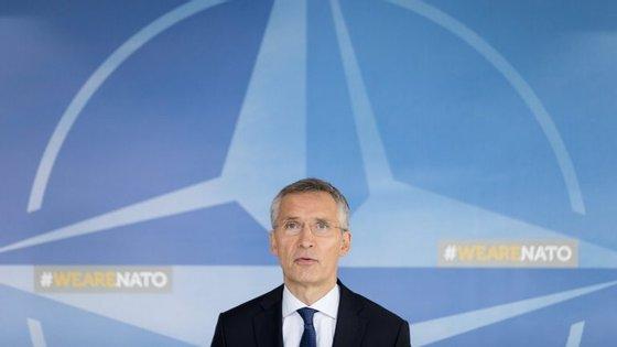 O secretário-geral da NATO, Jens Stoltenberg, falava esta quinta-feira durante um colóquio em Itália