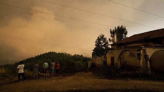 Em Ferreira do Zêzere, 26 habitações foram afetadas pelo incêndio que lavrou no concelho entre 11 e 13 de agosto
