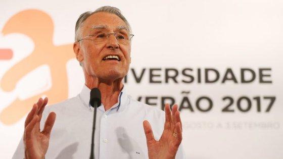 Cavaco Silva falou aos jovens na Universidade de Verão do PSD